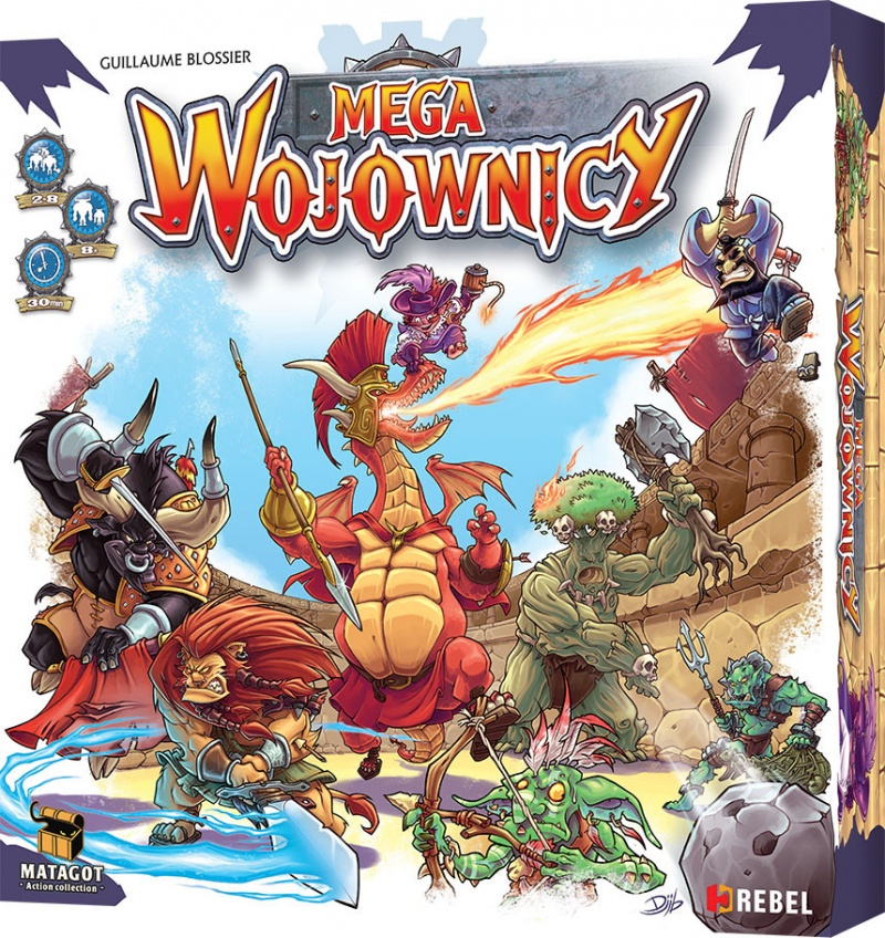 zjAva - Megawojownicy